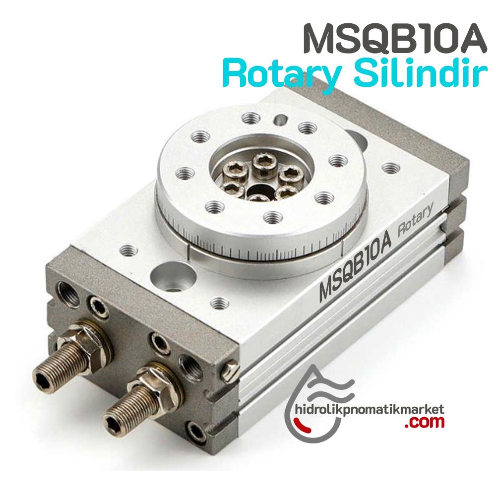 MSQB-10A Rotary Silindir Döner Tip  Msqb10a Rotary Piston