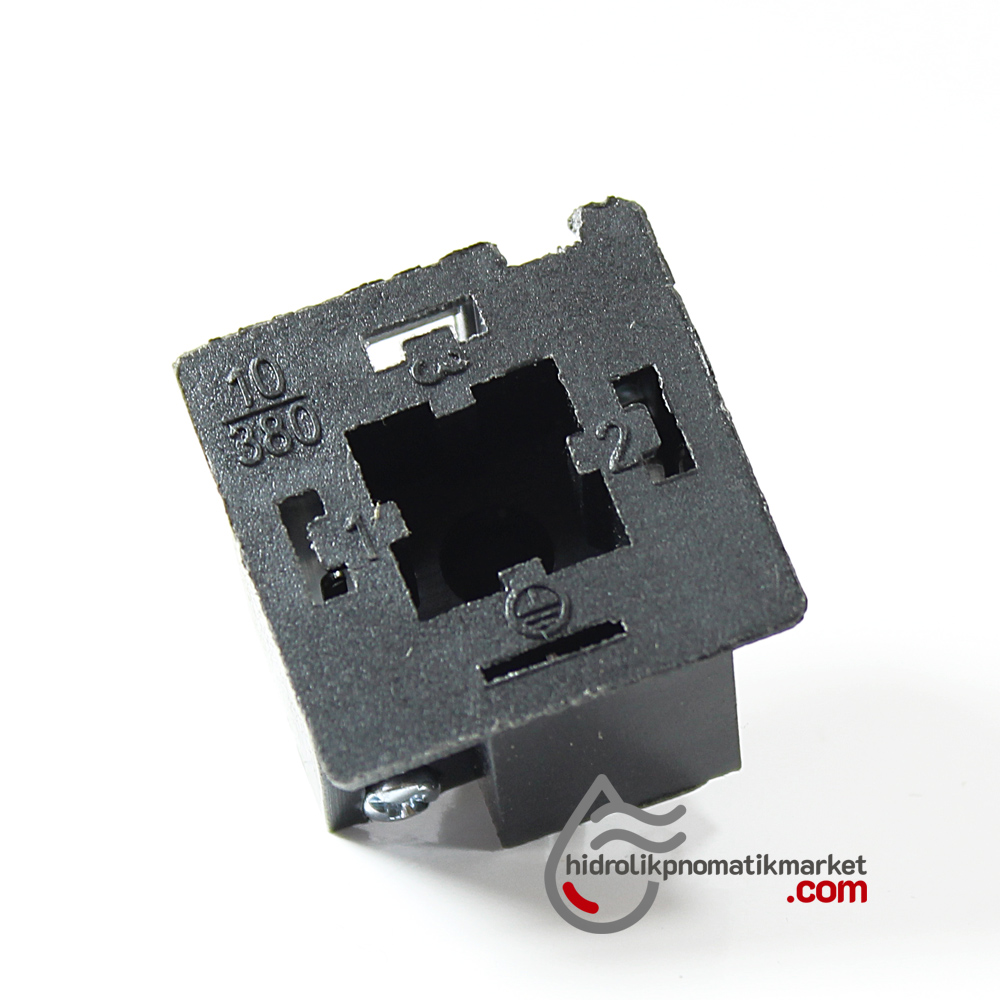 Coil World Bobin ve Valf Enerji Bağlantı Soketi 12V 24V 110V 220V Geniş Tip 43650  Mrt 9001