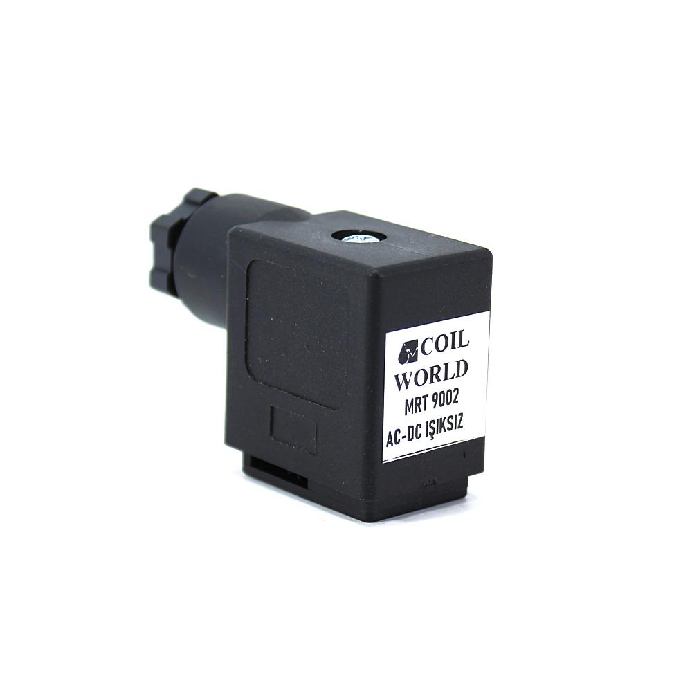 Bobin ve Valf Enerji Bağlantı Soketi 12V 24V 110V 220V Dar Tip 43650 Mrt 9002
