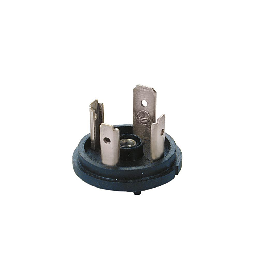 Bobin Soketi AR02 AR03 Bobin Bağlantı Soketi Baza (Bases) 4pimli Geniş Tip DIN43650 Mrt 9017