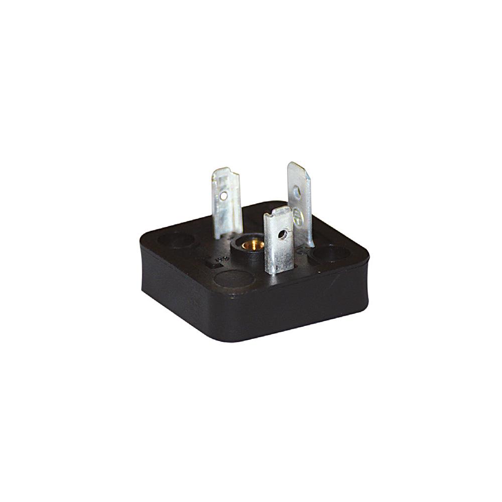 Bobin Soketi AV02 2F - AV03 2F Bobin Bağlantı Soketi Baza Bases 3pimli Geniş Tip DIN43650 Mrt 9008
