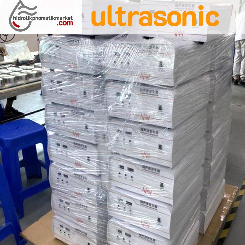 Ultrasonic Yapıştırıcı Makine - 20KHZ  /2000 W Profesyonel Maske Tekstil Kağıt Plastik Yapıştırıcı